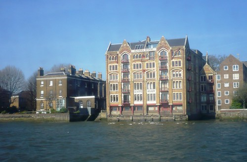 Oliver's Wharf, Wapping