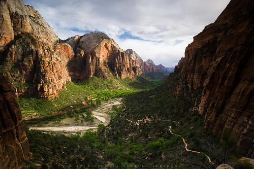 travel usa nature landscape thailand utah nationalpark hiking unitedstatesofamerica canyon valley northamerica zion angelslanding zionnationalpark westrimtrail pichayaviwatrujirapong