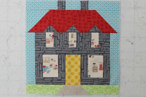 Home Sweet Home block for Quiltmaker