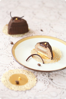 Coffee & Cinnamon Mousse Cakes