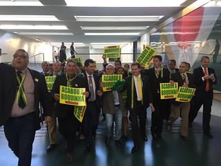 Caminhada da Despedida de Dilma Roussef