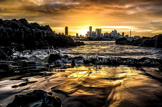 Sunset on fire - Natal-RN