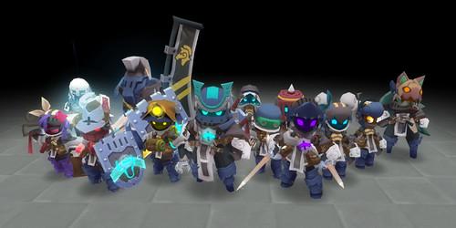 Spiral Knights - crew