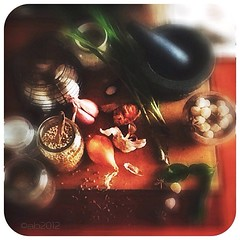 Boemboe. Indonesian spices. 365 project. iPad2.