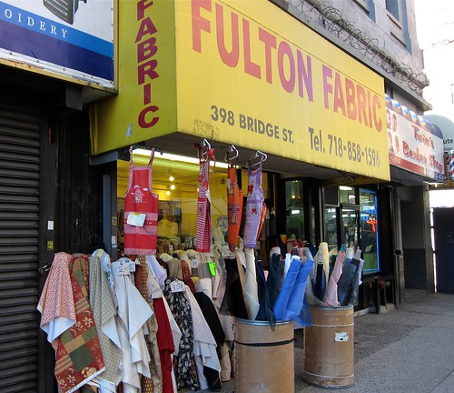 Fulton Fabric on Bridge Street in Brooklyn (Fulton Mall)