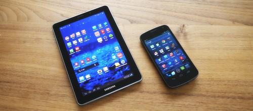 Samsung Galaxy Tab 7.7 und Nexus