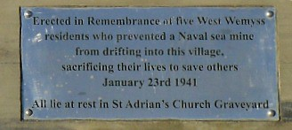 Floating Mine Memorial Plaque