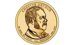 Chester Arthur dollar coin