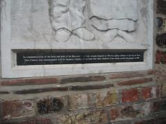 Photo of Bronze plaque number 9187