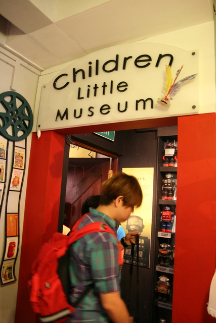 The Children Little Museum is at 42 Bussorah Street