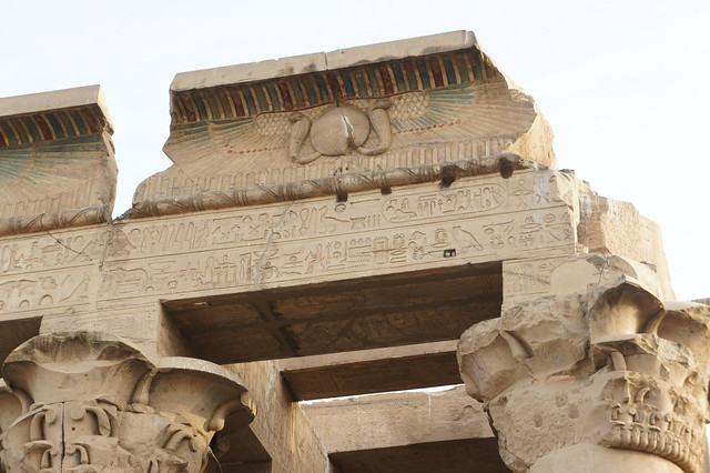 The colors of Egypt's temple of Kom Ombo