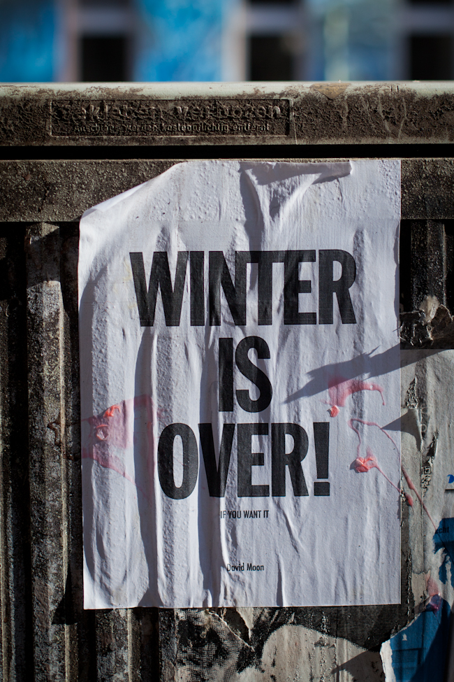 Winter is Over