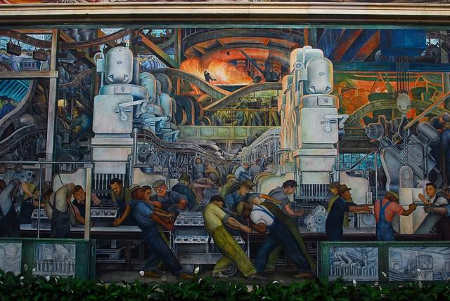 Detroit industry murals flickr photo sharing for Detroit industry mural