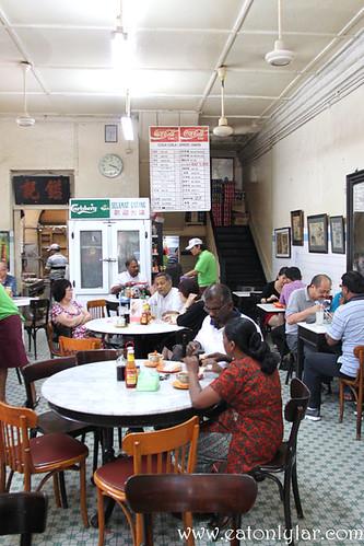 Interior, Yut Kee Restaurant