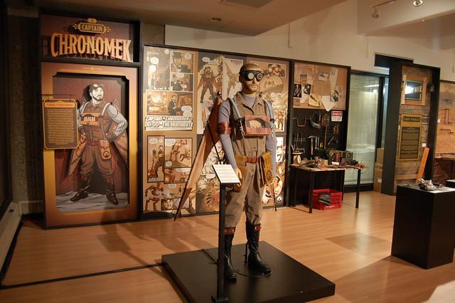 Captain Chronomek Exhibit at Emerge