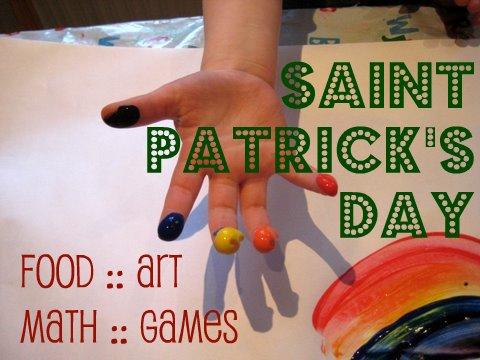 rainbow craft for st patricks day