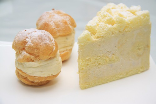 Signatures Durian Mousse Cake & Durian Puffs