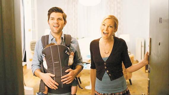 Adam Scott and Jennifer Westfeldt play host to FRIENDS WITH KIDS.