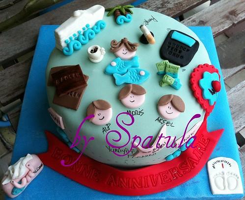 temalı doğum gunu pastası by Demetin spatulasi