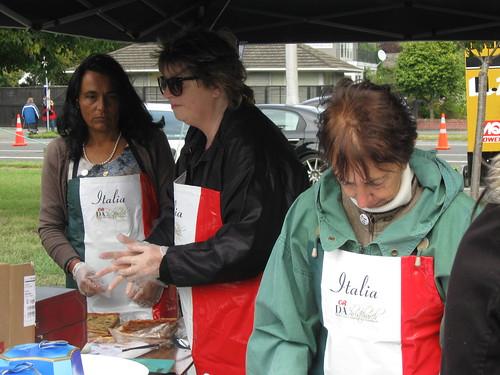 Italian food stall