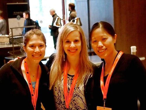 Jenna Sauber, Allyson Burns, and Emily Yu - Team @casefoundation