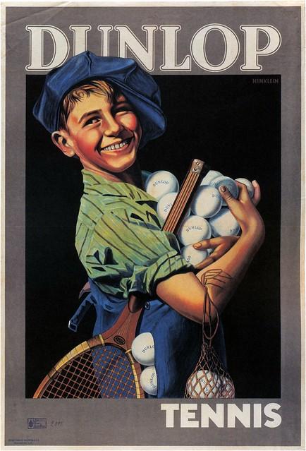 Franz Jakob Hinklein, Dunlop Tennis, 1926