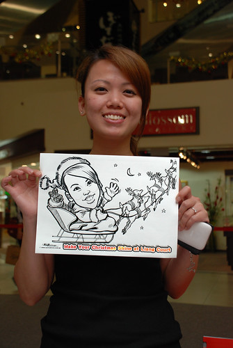 "caricature live sketching for ""Make Your Christmas Shine at Liang Court"" - 12"