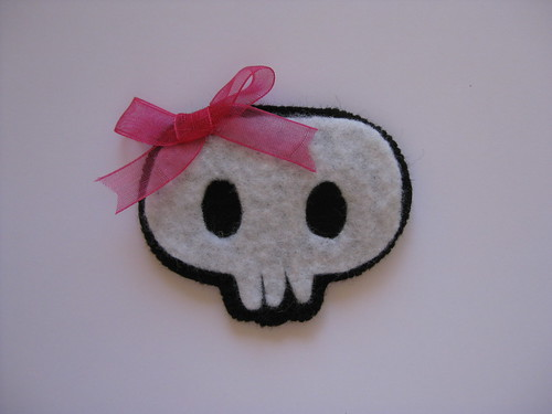 Skull Brooch by ONE by one
