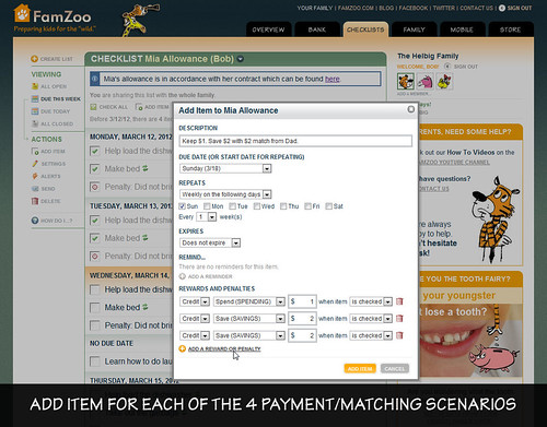 Setting Up the Four Payment/Matching Scenarios