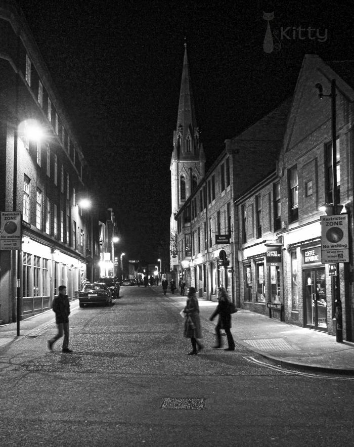 Oxford Street B&W
