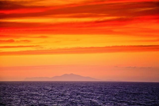Mediterranean sunset HDR 20110810