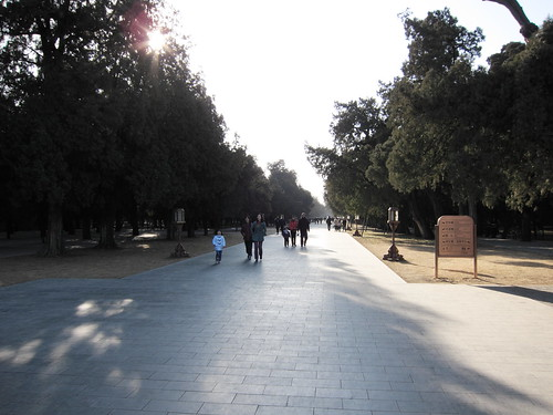 Park at Temple of Heaven