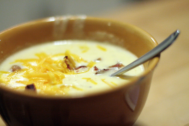 Very Dairy Potato Soup
