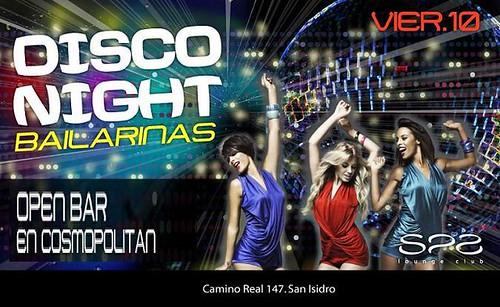 Spa Lounge - Vie 10 Feb - Disco Party Night
