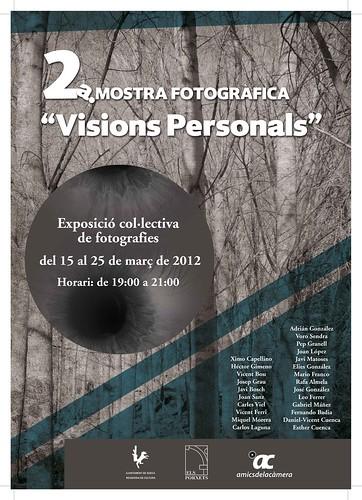 """2a. Mostra fotogràfica """"Visions Personals"""""""
