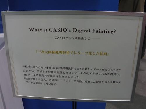 CASIO カシオ デジタル絵画