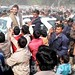 Rahul & Priyanka campaign together in Sultanpur (2)
