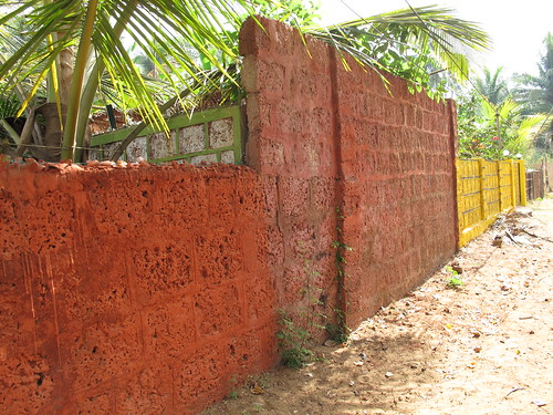 Common Wall Construction : Ouno design most common building material in goa is a