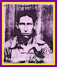 Pascasio Campo Sánchez, exiliado en México en 1939