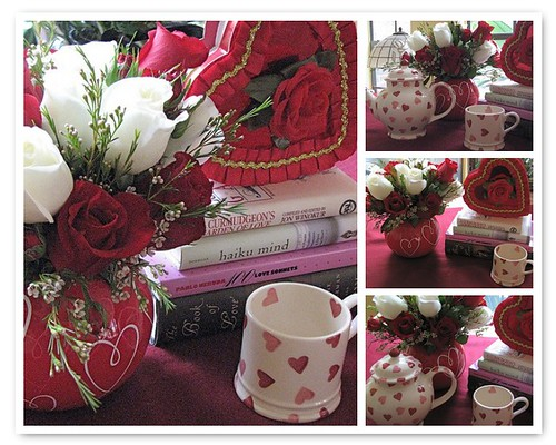 Valentine's Day Tea Mosaic