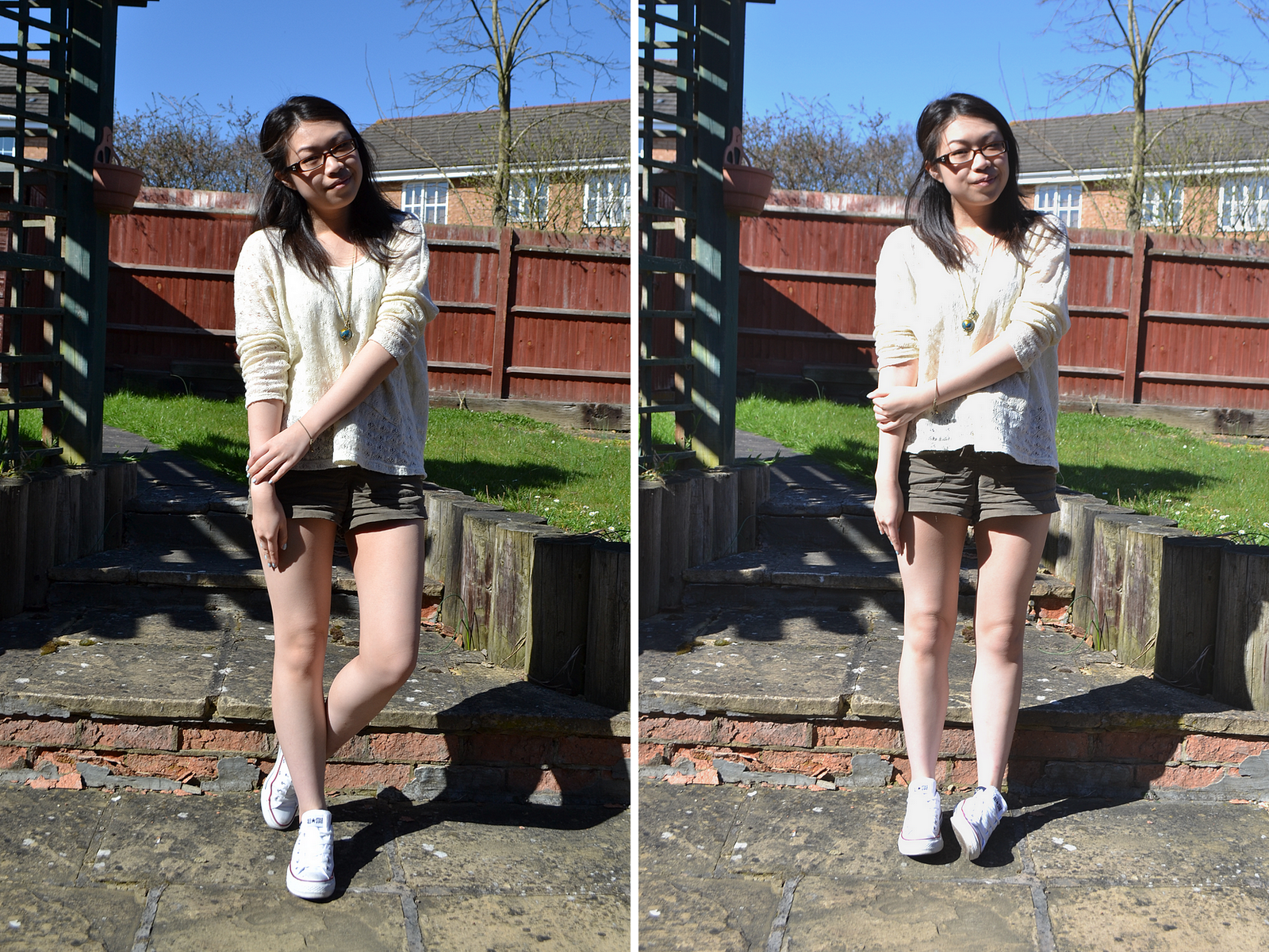 daisybutter - UK Style Blog: what i wore, british fashion blog, ss12, forever 21, ever ours, how to wear white converse