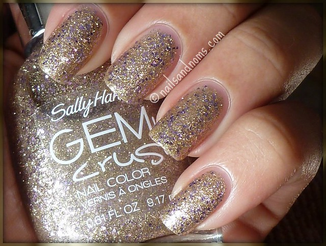 Sally Hansen Gem Crush - Big Money (indirect sunlight)