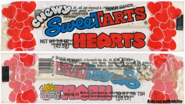 Chewy SweeTARTS Hearts - 1987