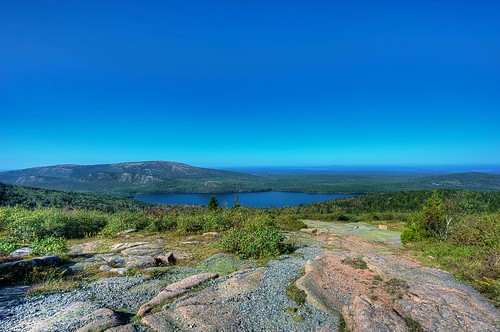 park usa mountain lake rock forest bush day maine cadillac clear national lobster acadianationalpark mounain accadia