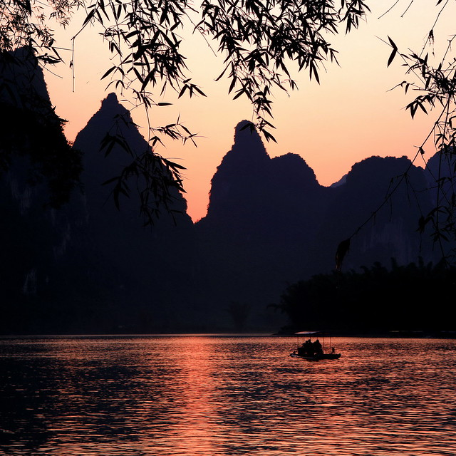 Sunset @ Li River