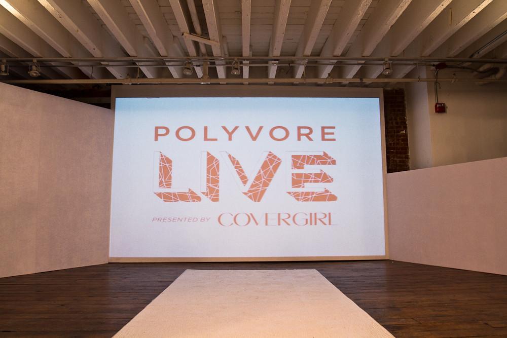 Polyvore Live Fashion Show