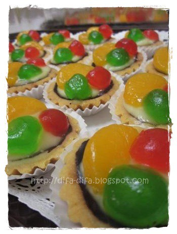 pie buah mini by DiFa Cakes