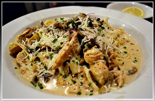 Chicken Marsala @Soup Spoon Cafe
