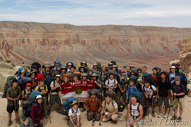 A Fine Group of Backpackers