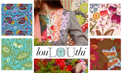 Friday's Giveaway -- Loulouthi!! sponsored by Modern Fabric Studio